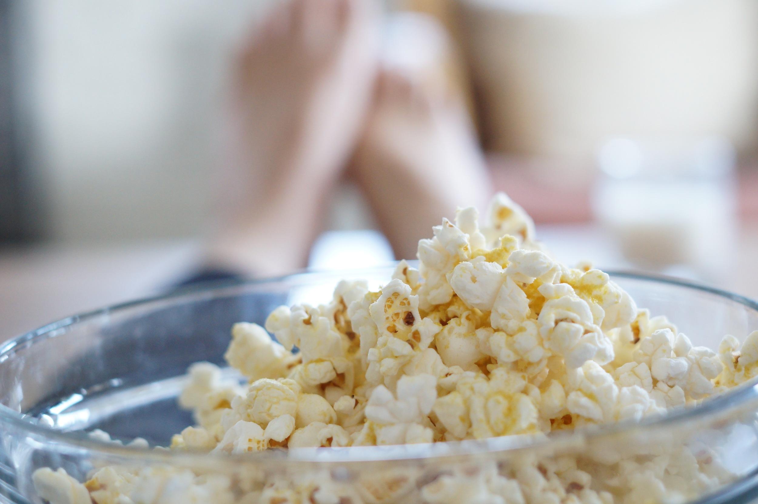 simple pleasure: movie night