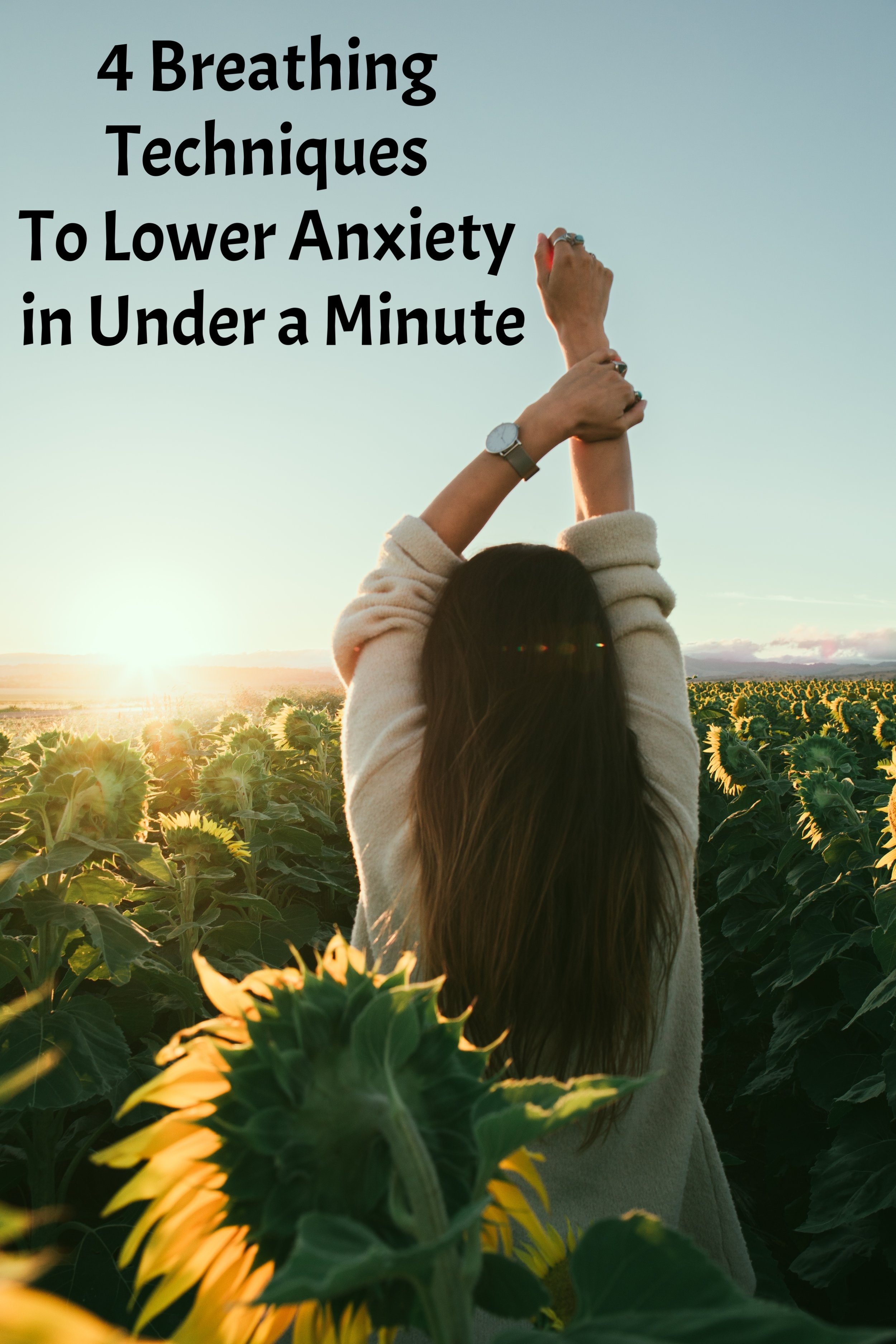 4 breathing techniques to lower anxiety in under a minute