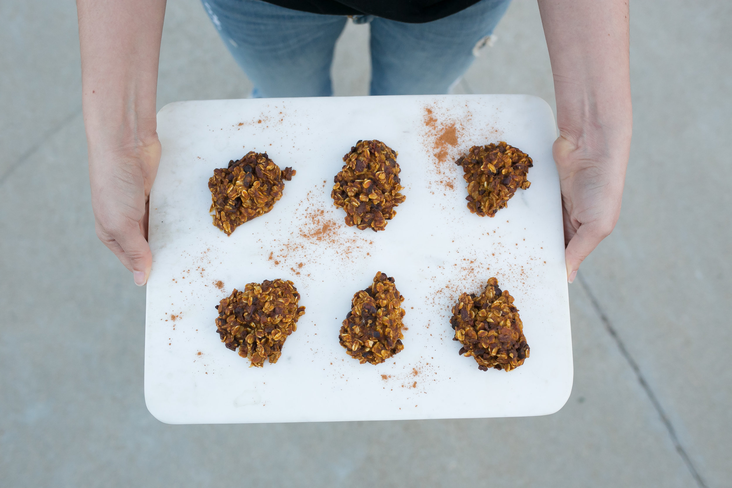 Gluten Free pumpkin Oatmeal Cacao Cookies - Happiness | Collective