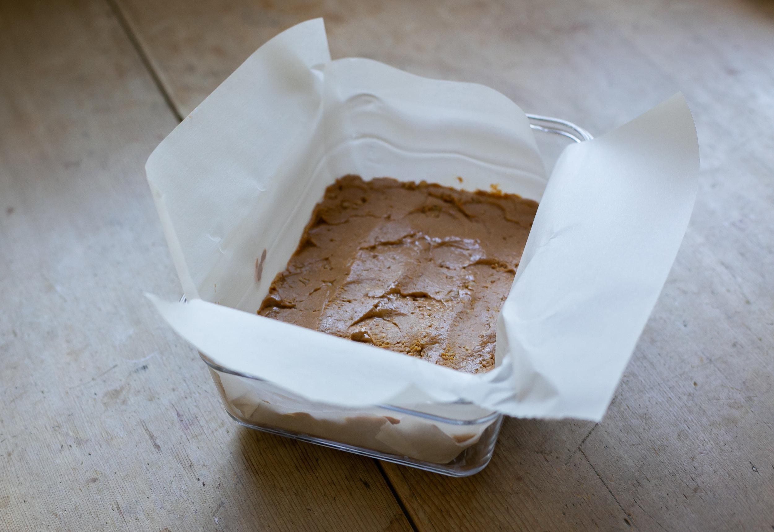 peanut butter crunch squares