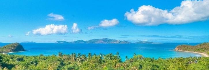 SummerSalt's view of Jost Van Dyke and Sandy Cay