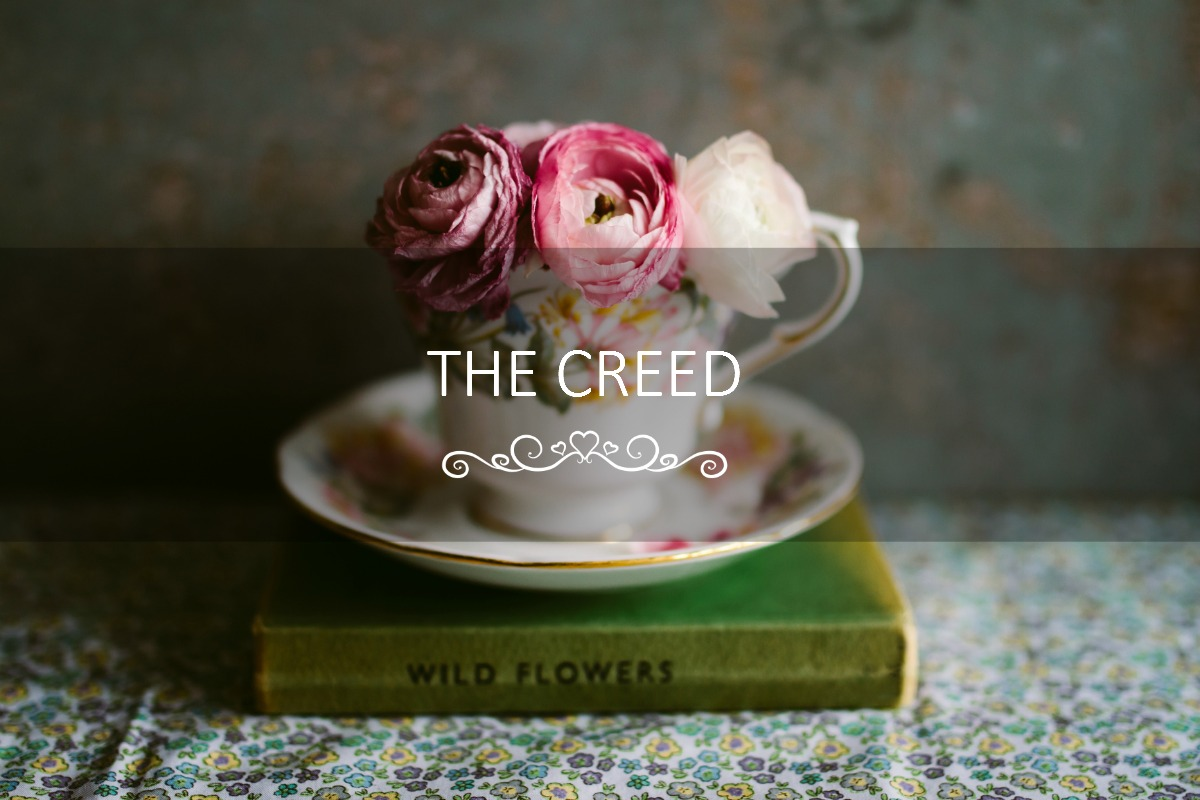 The Creed - an homage to HOME. www.circleofdaydreams.com