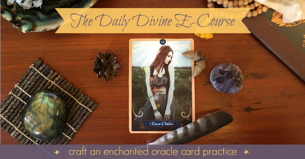 The Daily Divine E Course with Victoria Smith from the Mojo Lab.