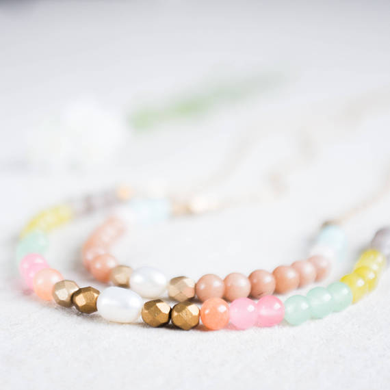 Nest Pretty Things - Pastel Necklace