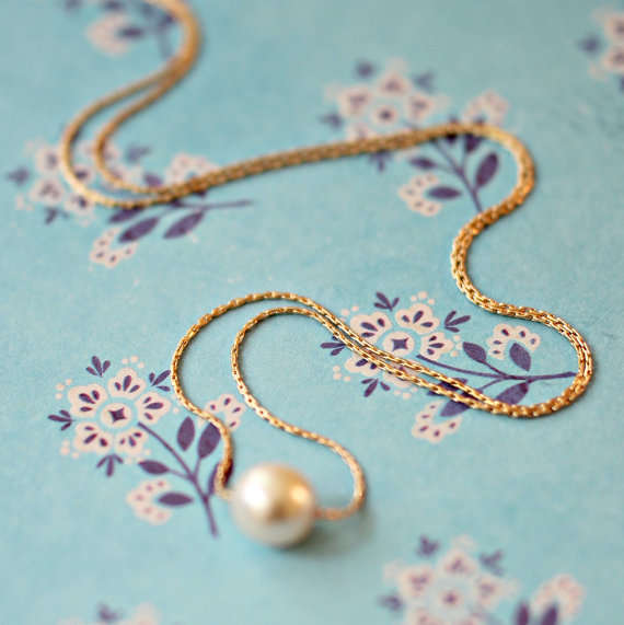 Pearl Necklace from Nest Pretty Things Shop