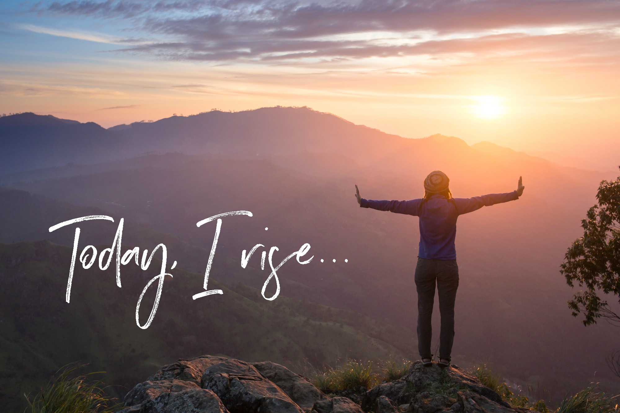 Today, I Rise. A video to inspire. Circle of Daydreams. www.circleofdaydreams.com