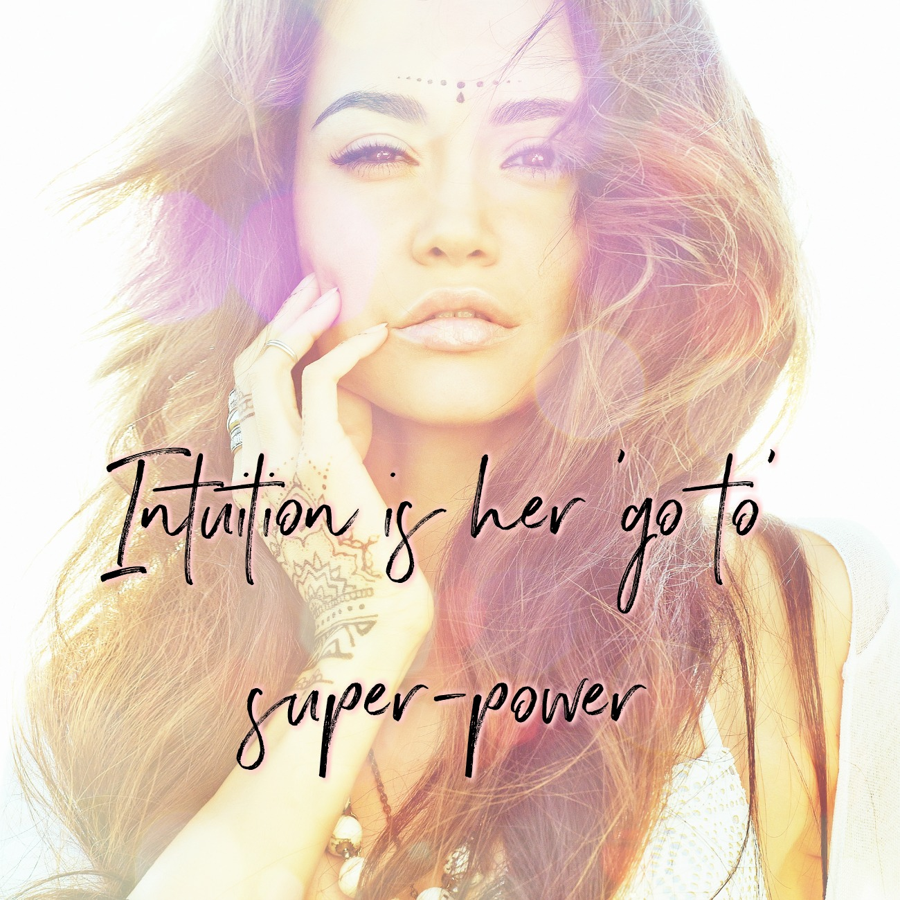 Intuition is her 'go to' super-power. Circle of Daydreams. Honouring your Innate Knowings