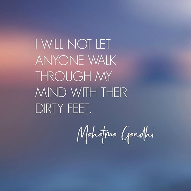 What we think and what we allow are ours to choose.  #mahatmagandhi #mahatmagandhiquotes #quote_of_the_day #quotestoinspire #mindquotes #thoughtprovoking #inspirationdaily #inspirationalquotes