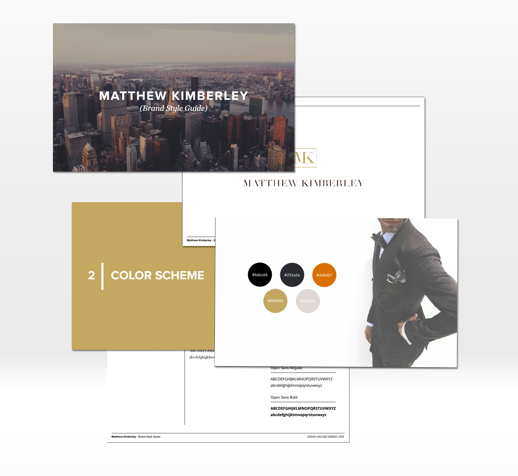 A sneak peak at Matthew's new brand style guide