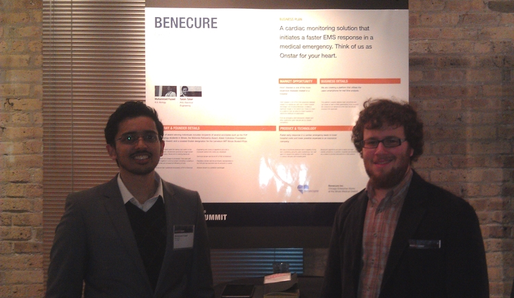 Jason/Muhammed presented the startup and met some amazing founders along with inquisitive audience members.