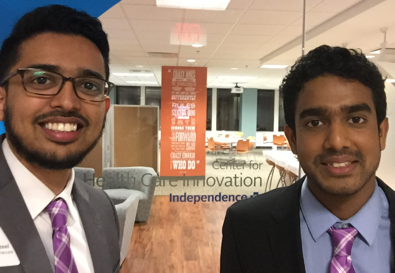 The competition was held in the Center for Health Care Innovation at Independence Blue Cross