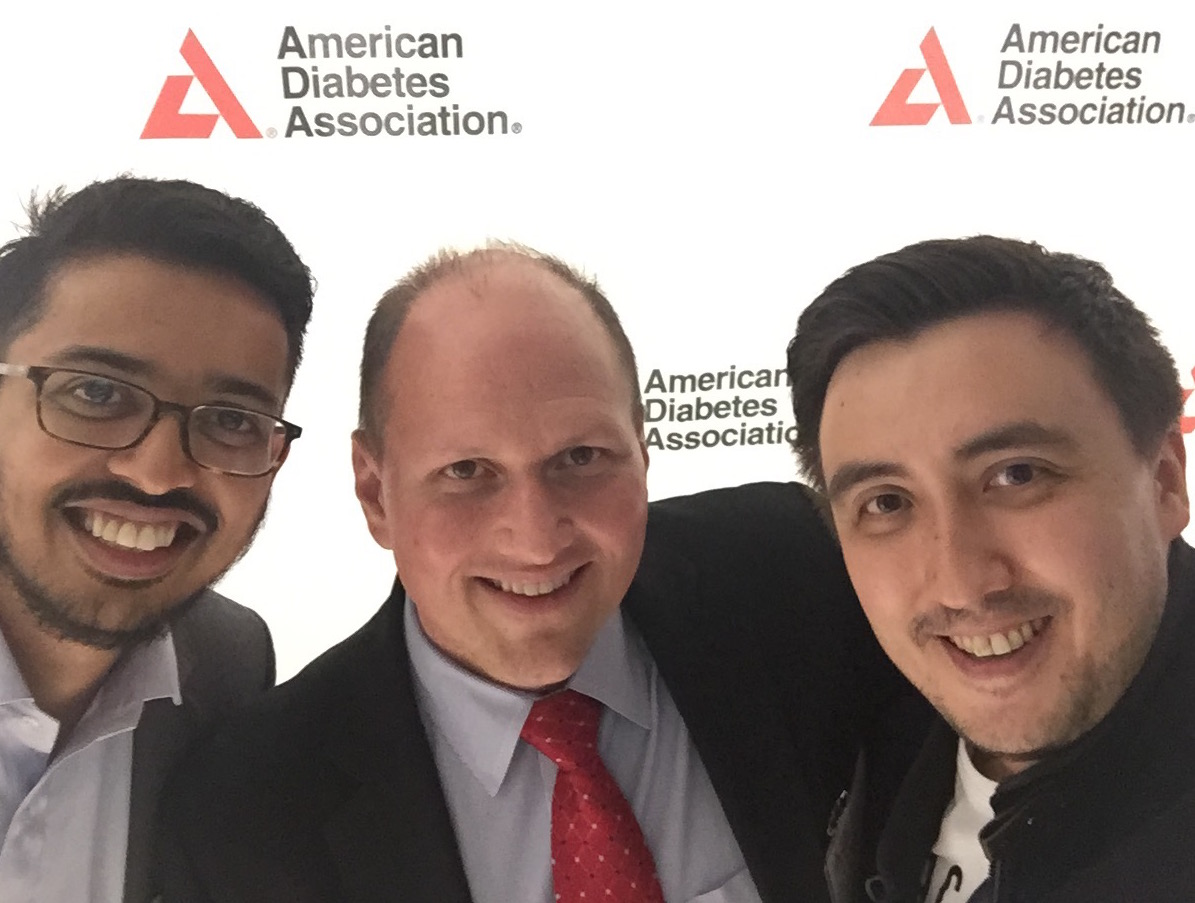 Benecure selfie with the American Diabetes Association CEO