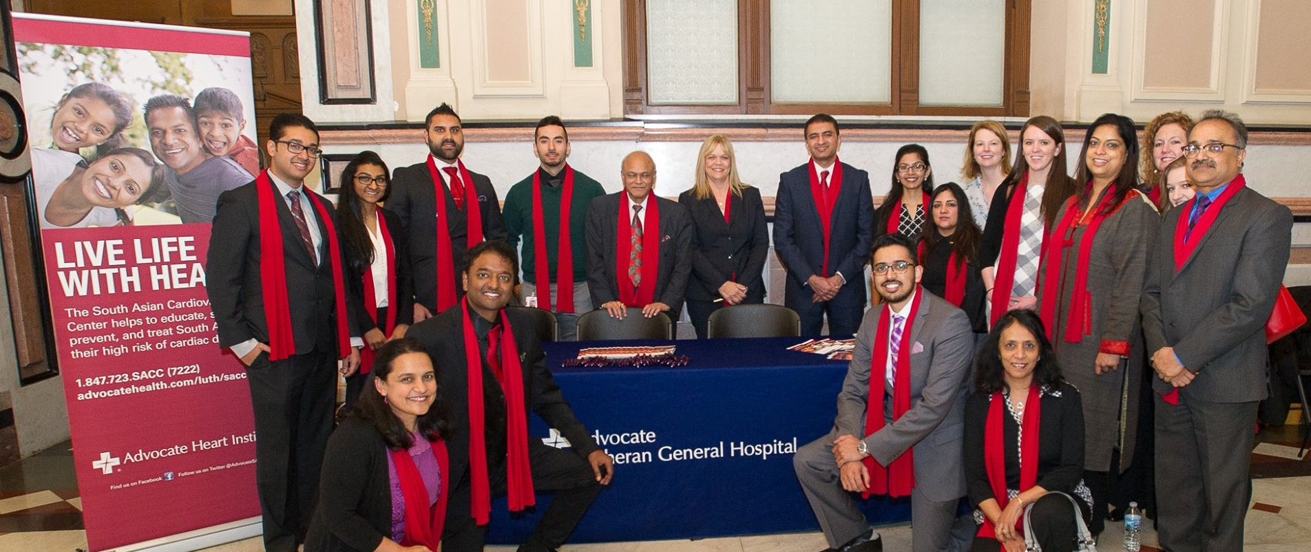 Red Sari Coalition with Advocate Health Center