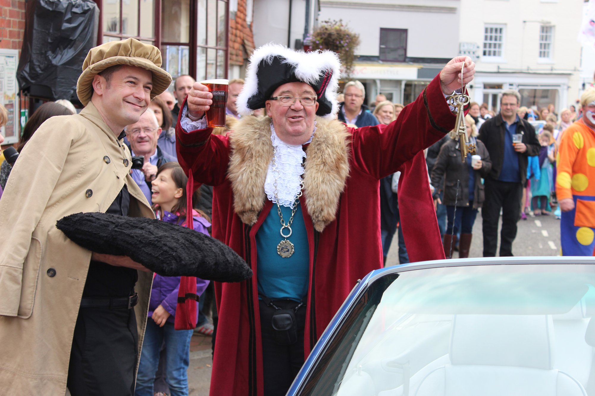 Cuckfield Mayor Ken Gregory 2015