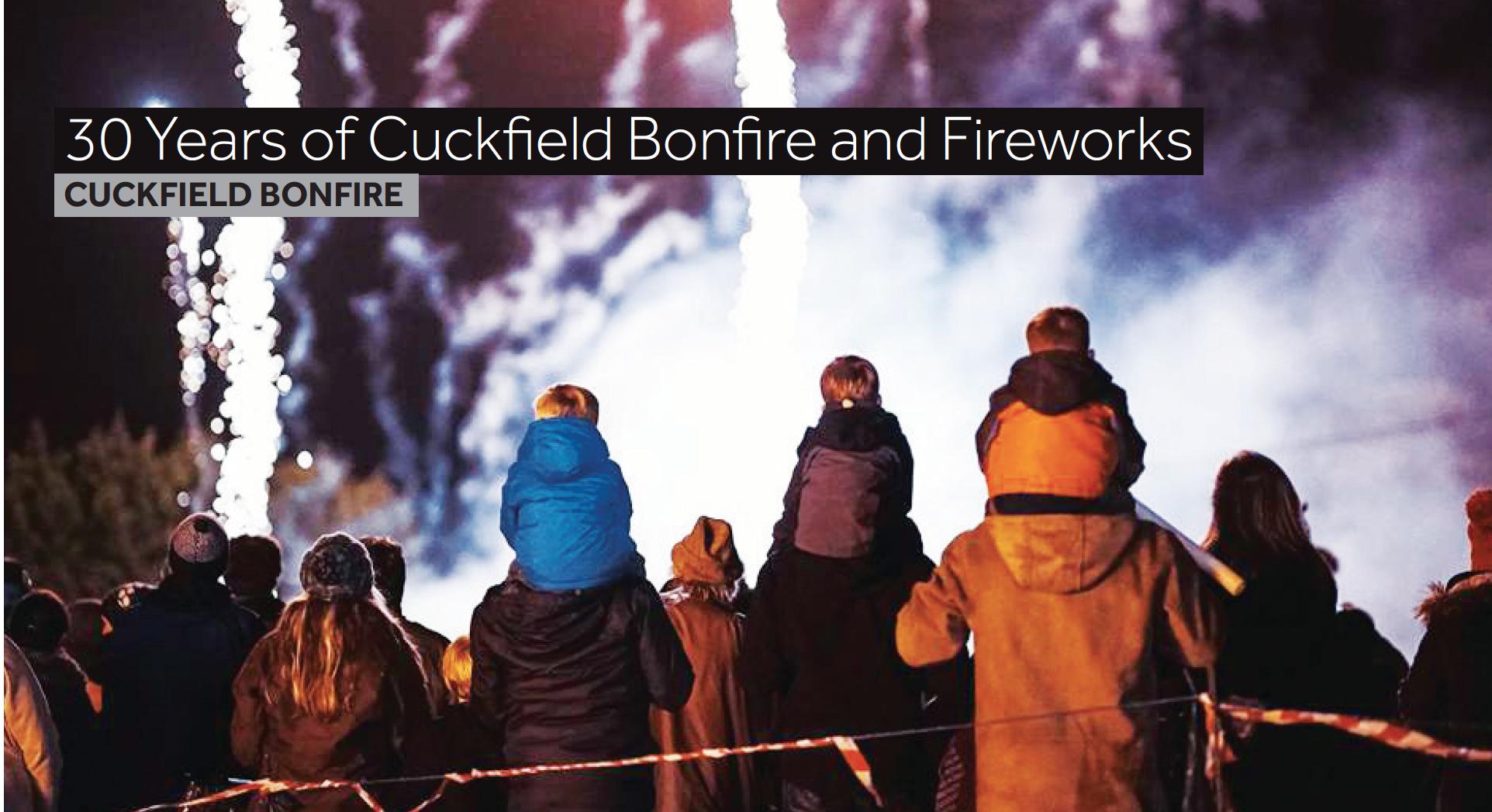 Cuckfield Bonfire 2016