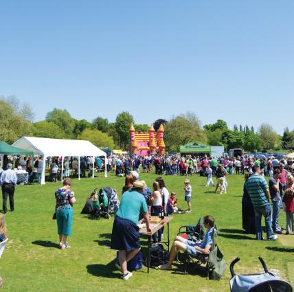 Staplefield Village Fete and Car Show
