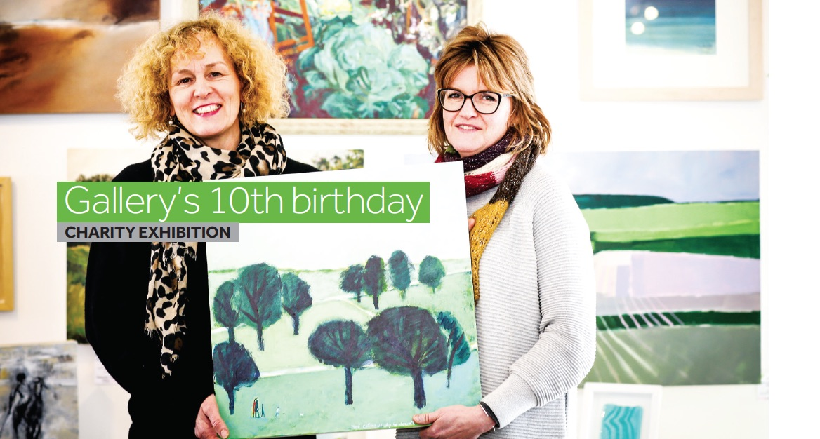 Green Tree Gallery support Chestnut Tree House
