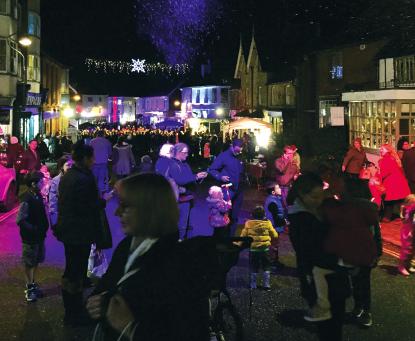 Cuckfield High Street Christmas Festival 2018