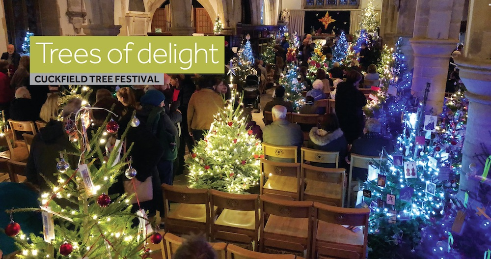 Cuckfield Christmas Tree Festival 2018