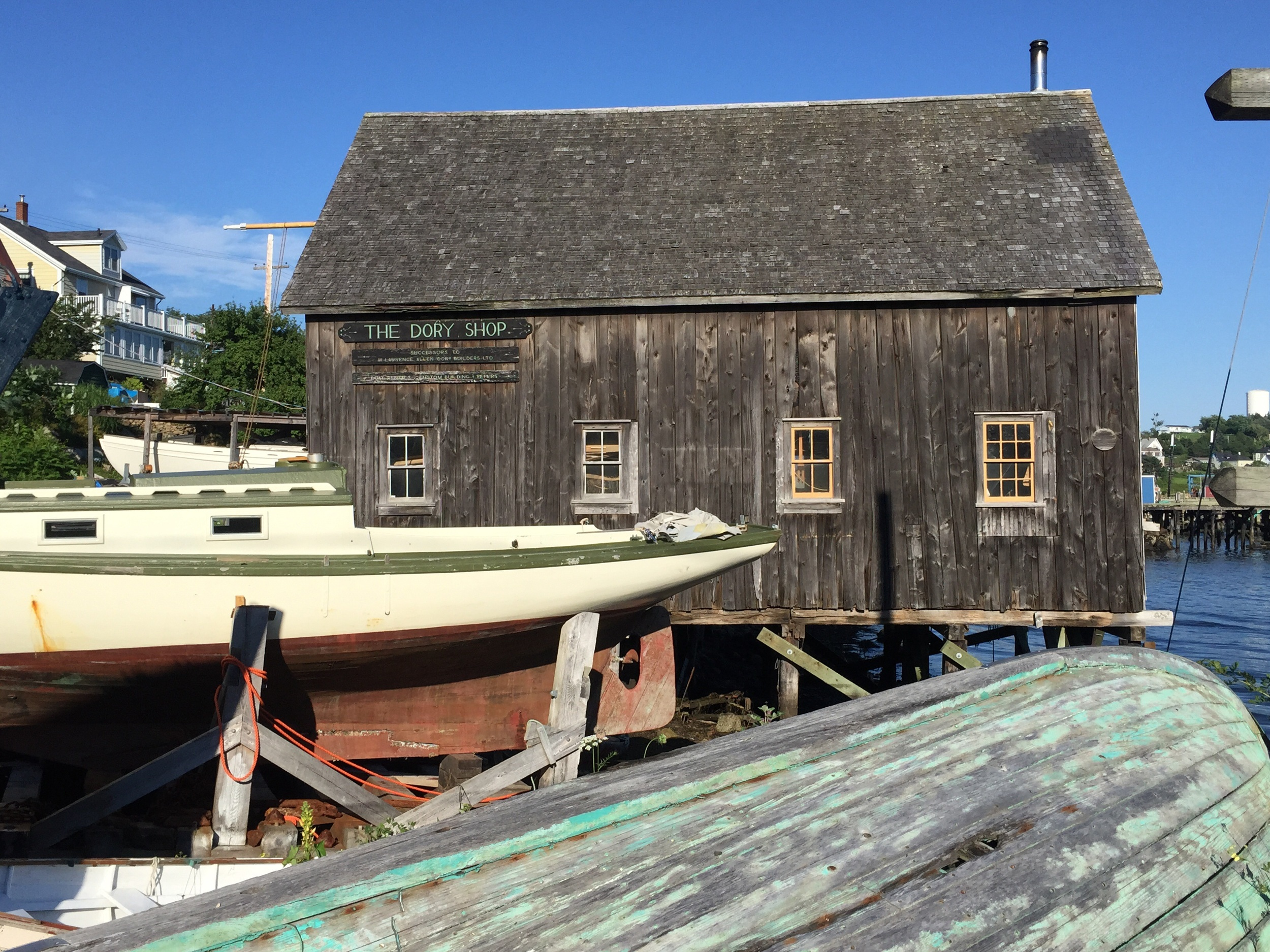 The Dory Shop in Lunenburg.