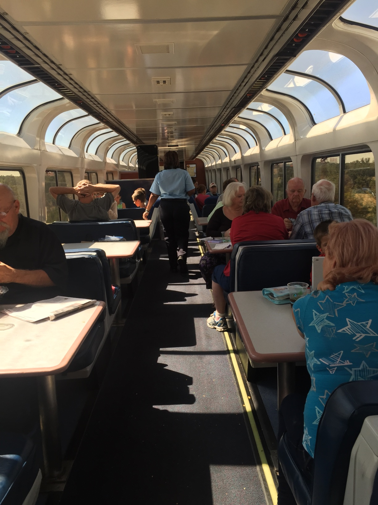 The Dining Car.