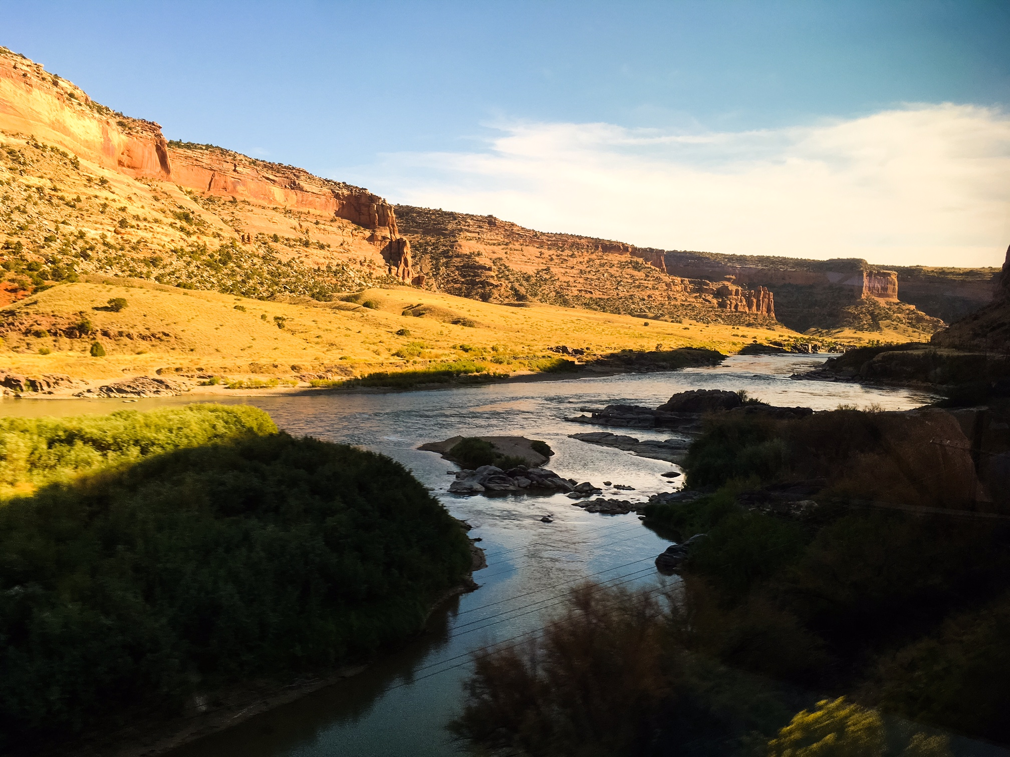 Ruby Canyon and the Colorado River west of Fruita, Colorado. © Bobby Magill