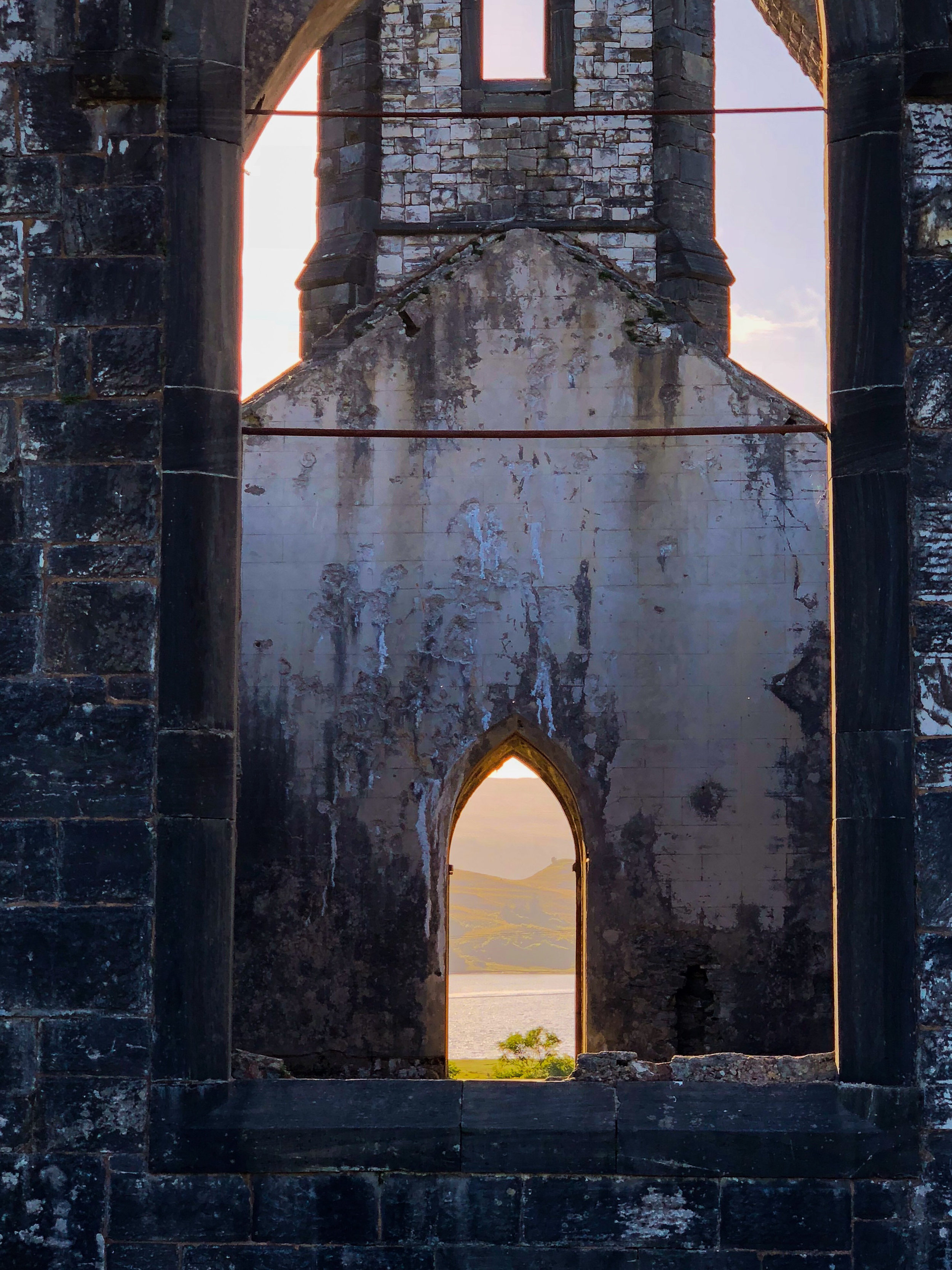Dunlewy Church, County Donegal, Ireland.