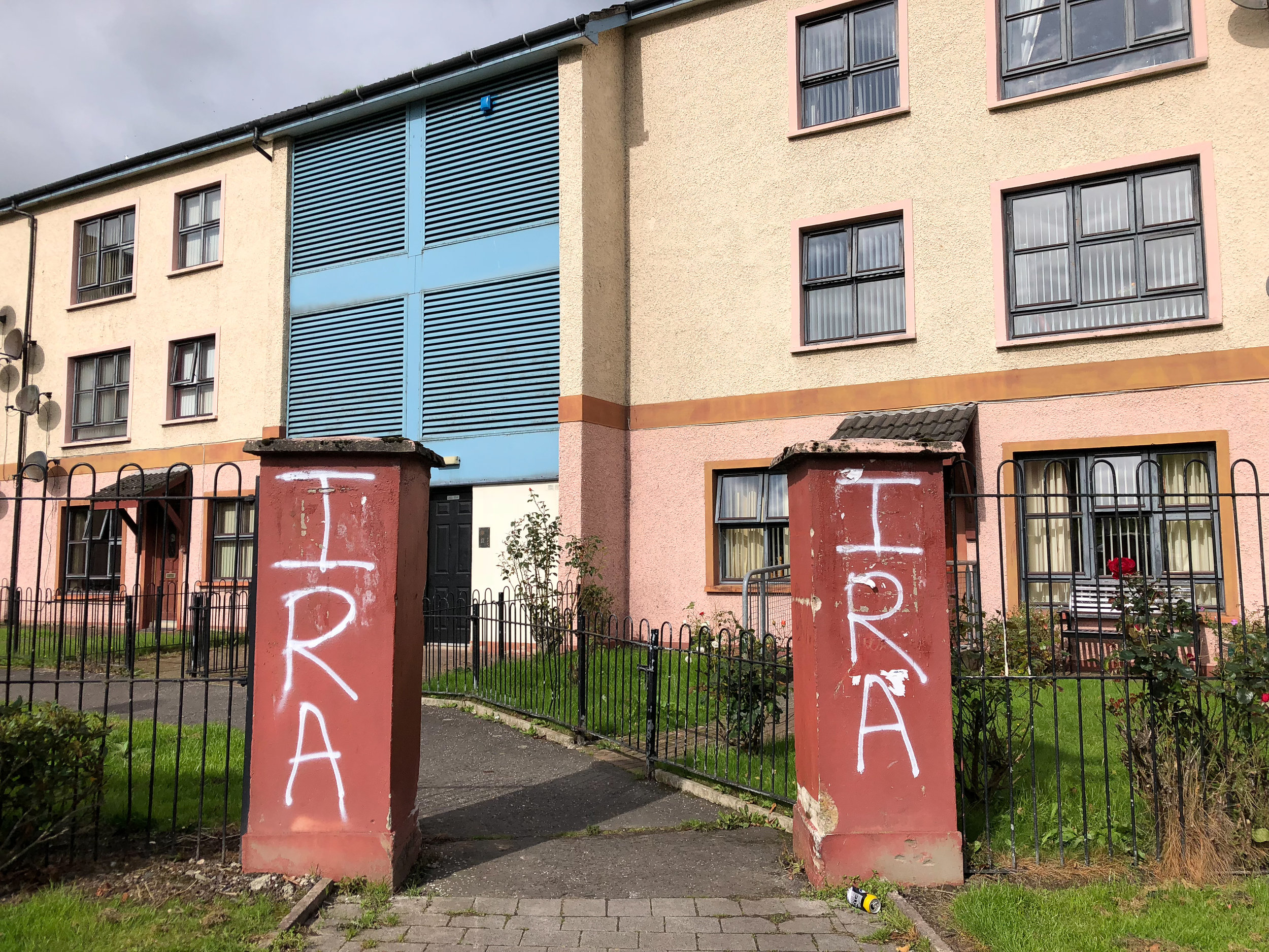 The legacy of the Troubles in Derry, Northern Ireland.