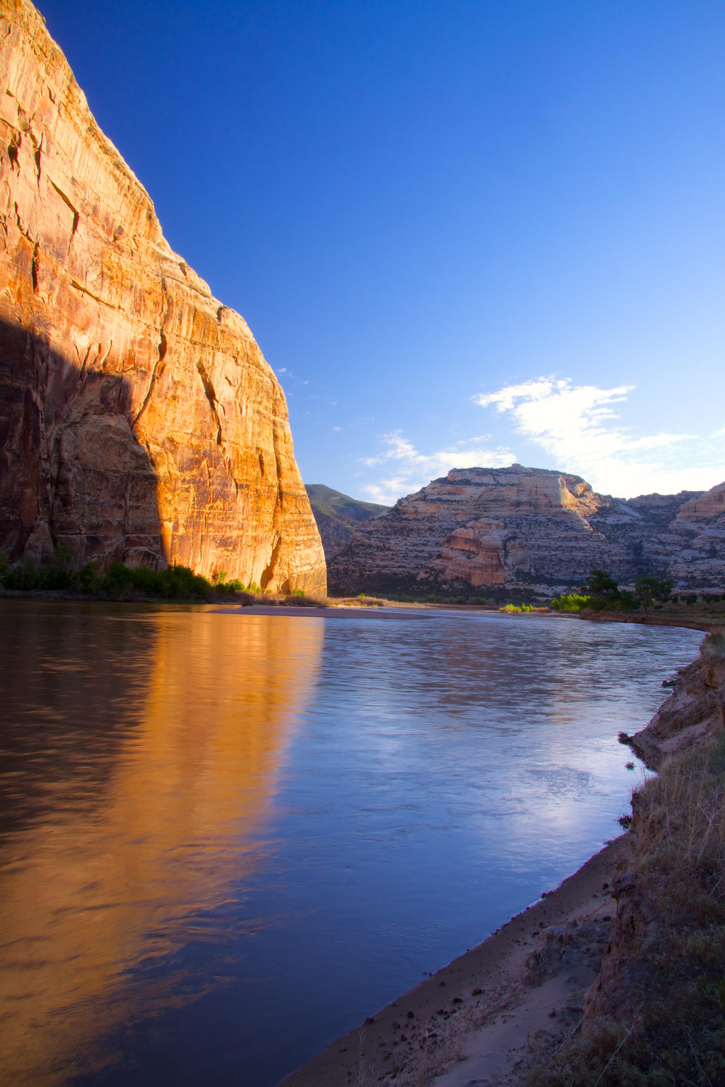 Green River Dawn