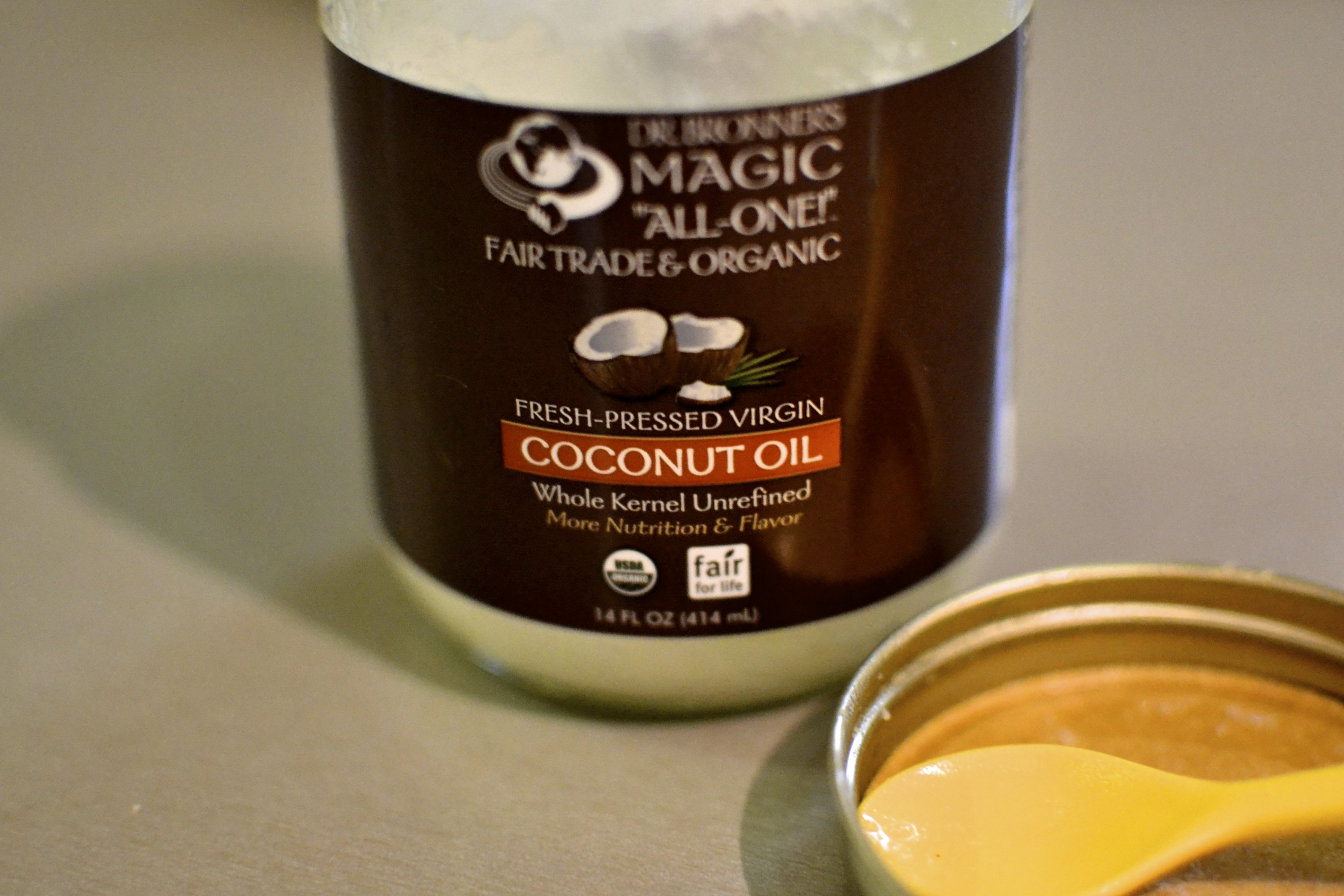 "we are trying this ""oil pulling"" thing…more on that later."