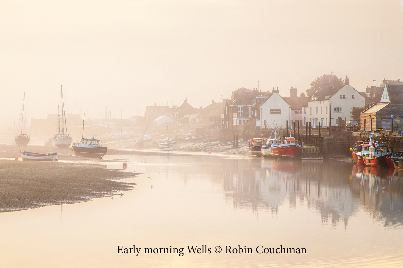 Early Morning at Wells next the Sea copyright ver.jpg