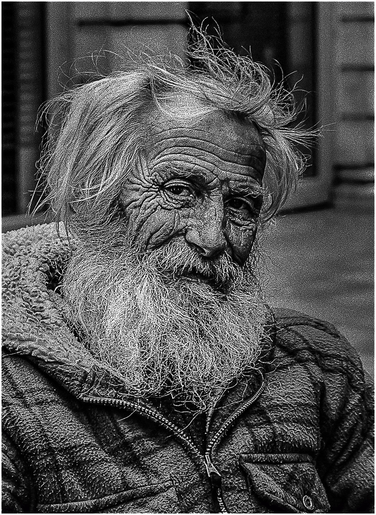 Julian Rouse. Life on the Streets, not yet 60