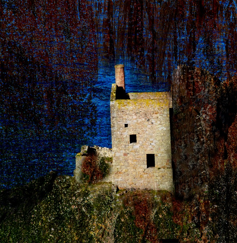 Amanda Chambers.   Cornish Tin Mine