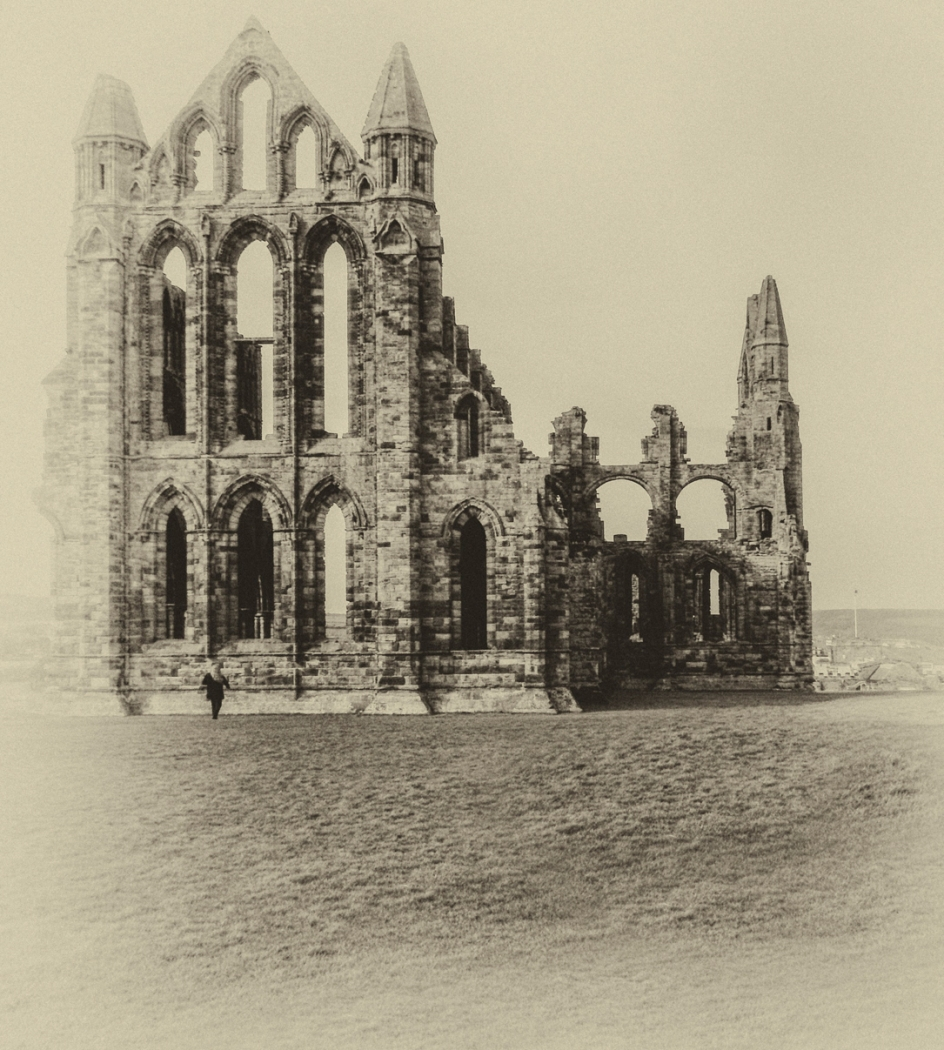 Mike Townley.   Whitby Abbey