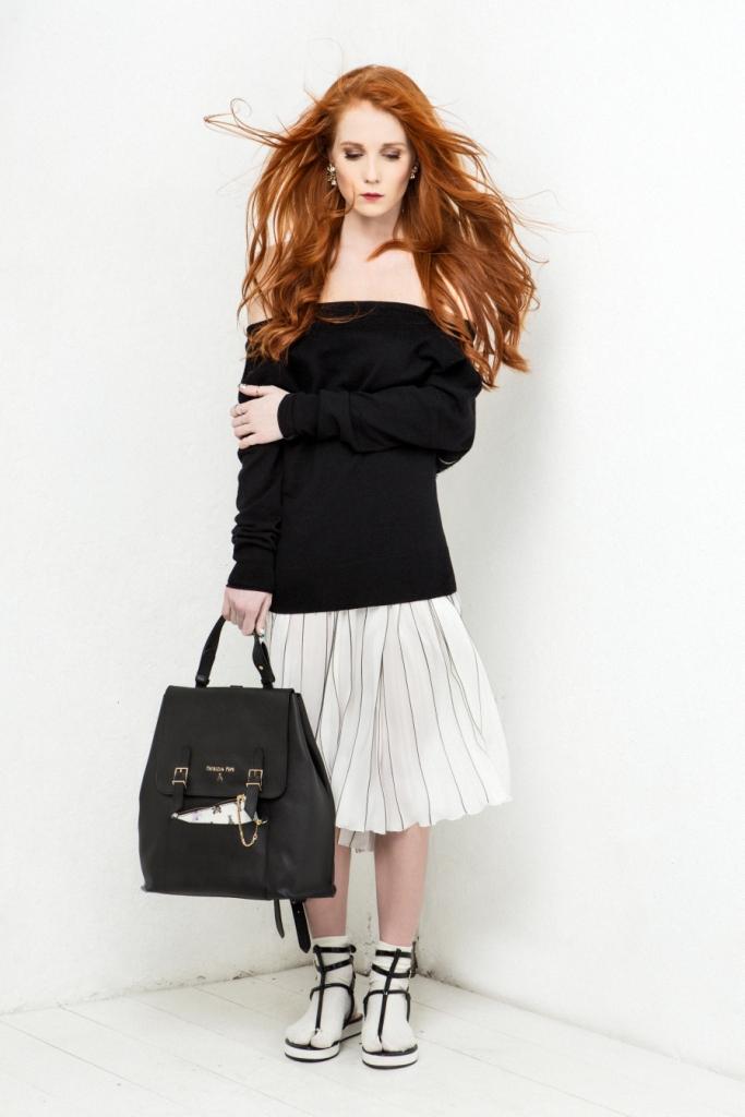 Александра Федоровав проекте Patrizia Pepe Fashion Gets Personal