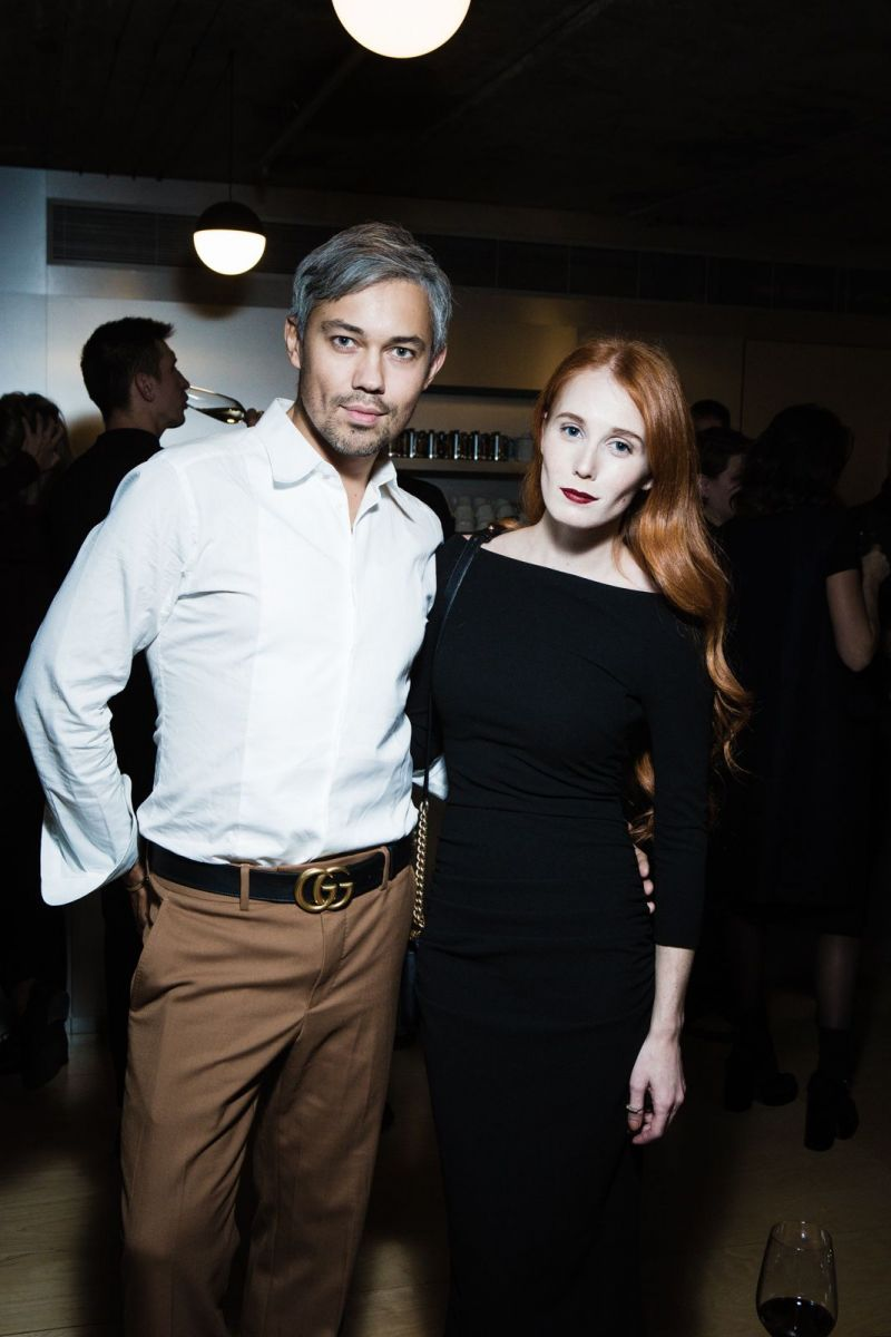 Александр Рогов и Александра Федорова на премьере фильма для Carrera & Carrera