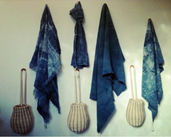 Indigo Dyed Blankets