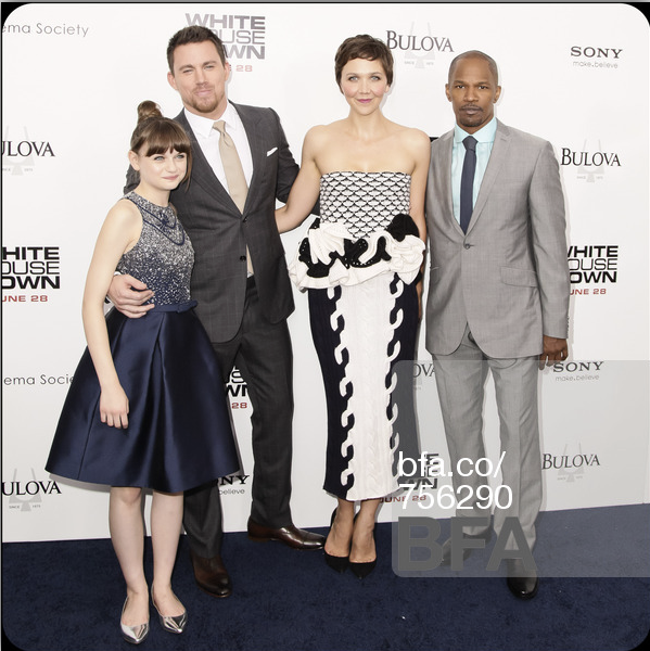 The cast: Joey King, Channing Tatum, Maggie Gyllenhall and Jamie Foxx