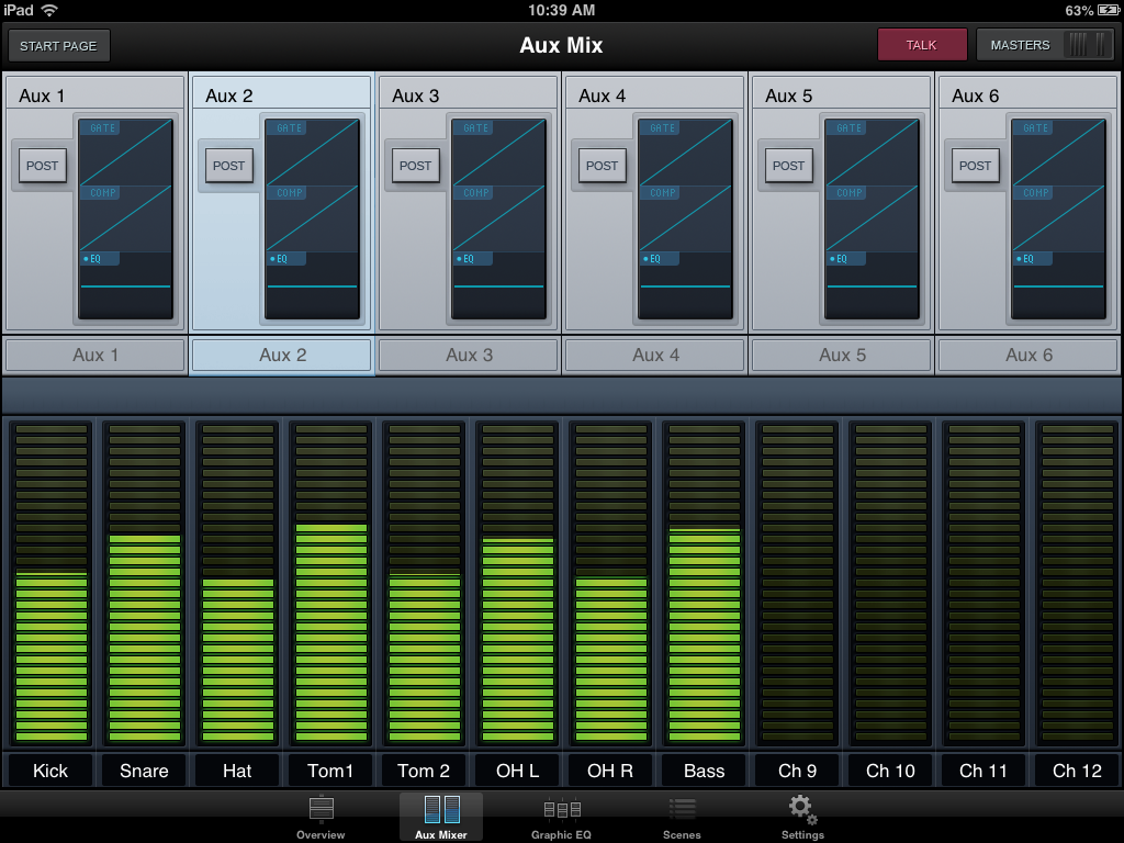 Aux Mixing Mode