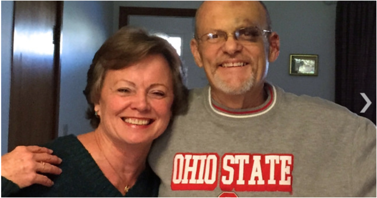 My friend, Pastor Ron Boehm and his wonderful wife, Chery. Read on for the story of the eye...