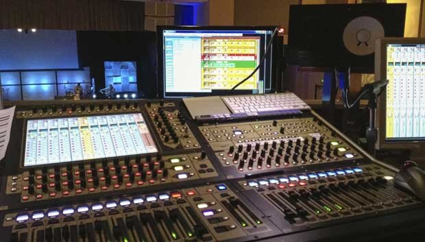Digital consoles make it easy to lay inputs out in the way that makes the most sense for your setting.