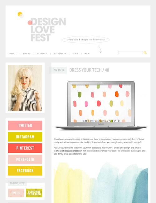Design Love Fest-  Dress Your Tech