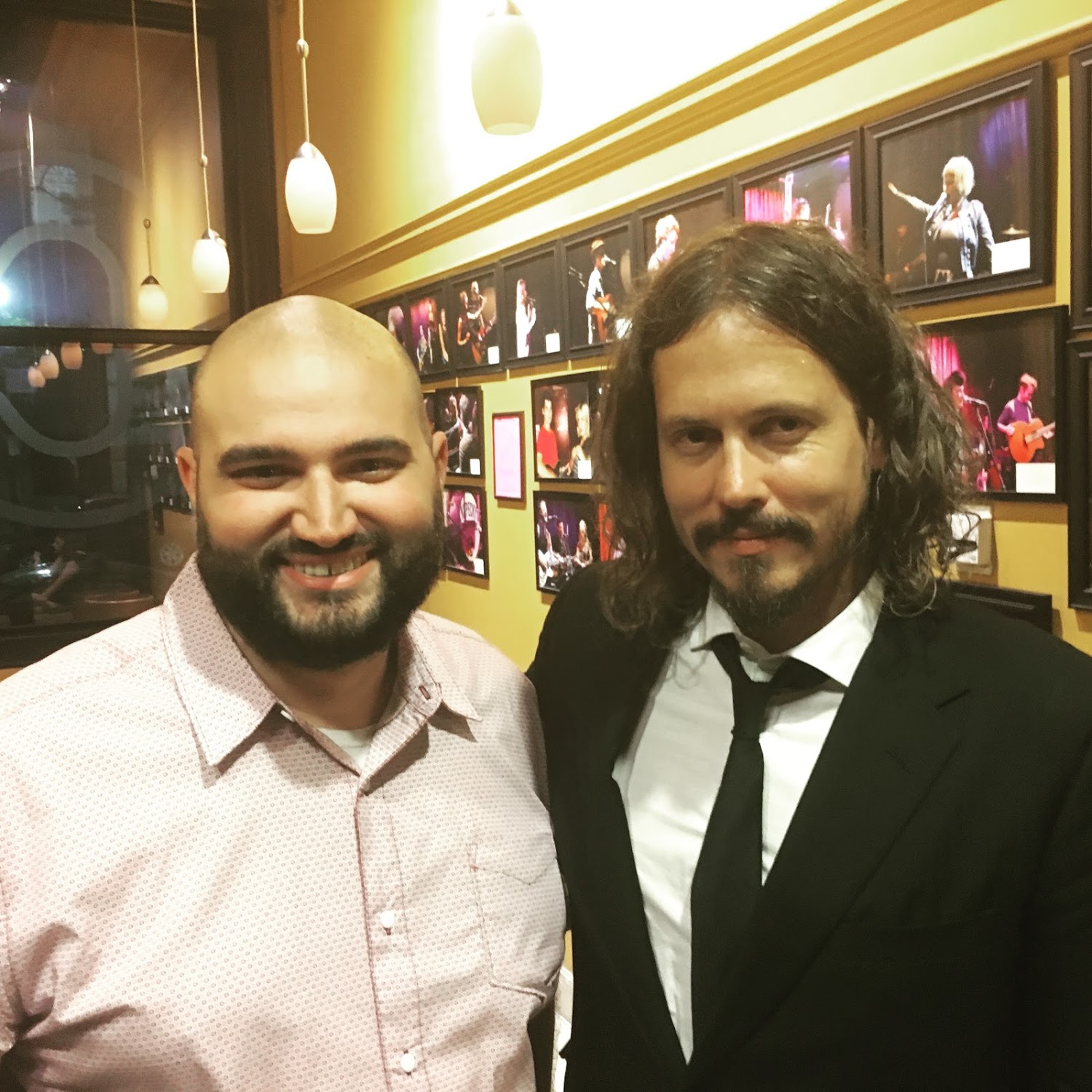 """Hey man, I saw you smilin' and singin' along the whole night so I just said, 'I'm gonna lock in on this guy.' "" - John Paul White to me"