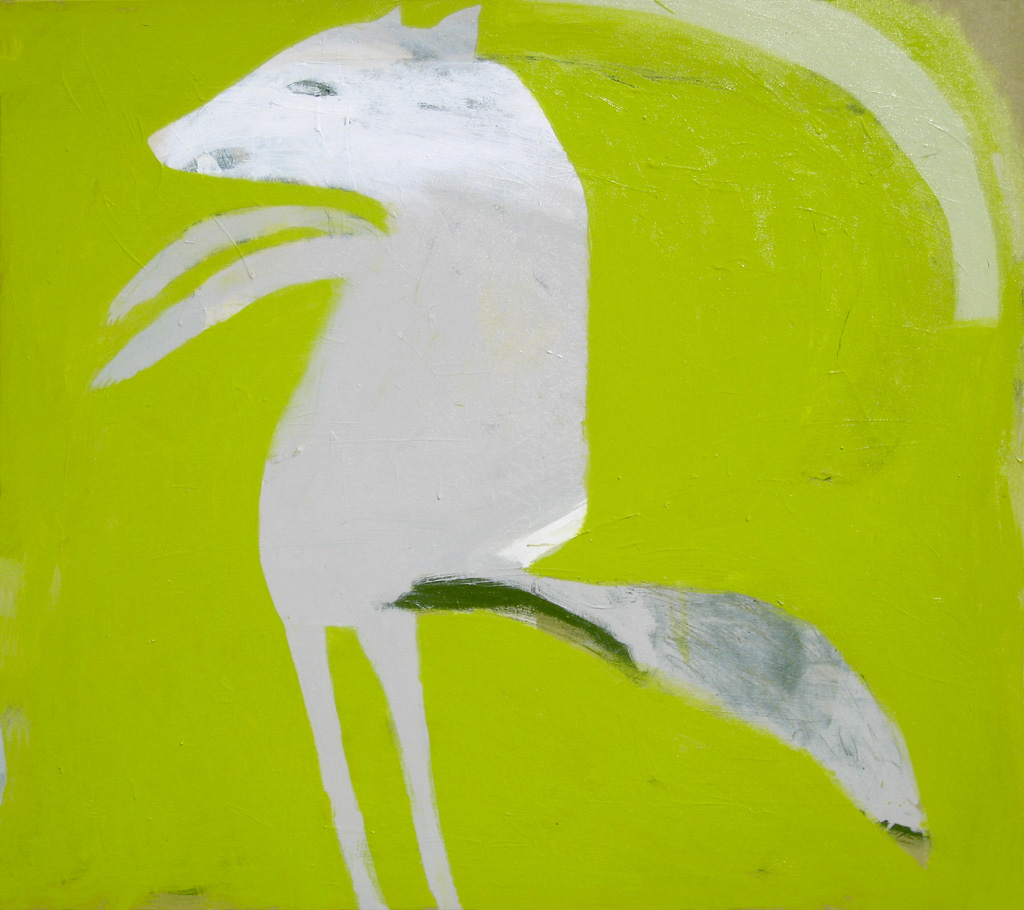 Coyote  2010 Acrylic on cotton canvas 121 x 137cm