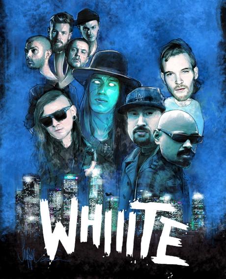 WHIIITE! Remix Artwork