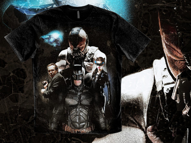Dark Knight Rises Tee Shirt Preview Designs