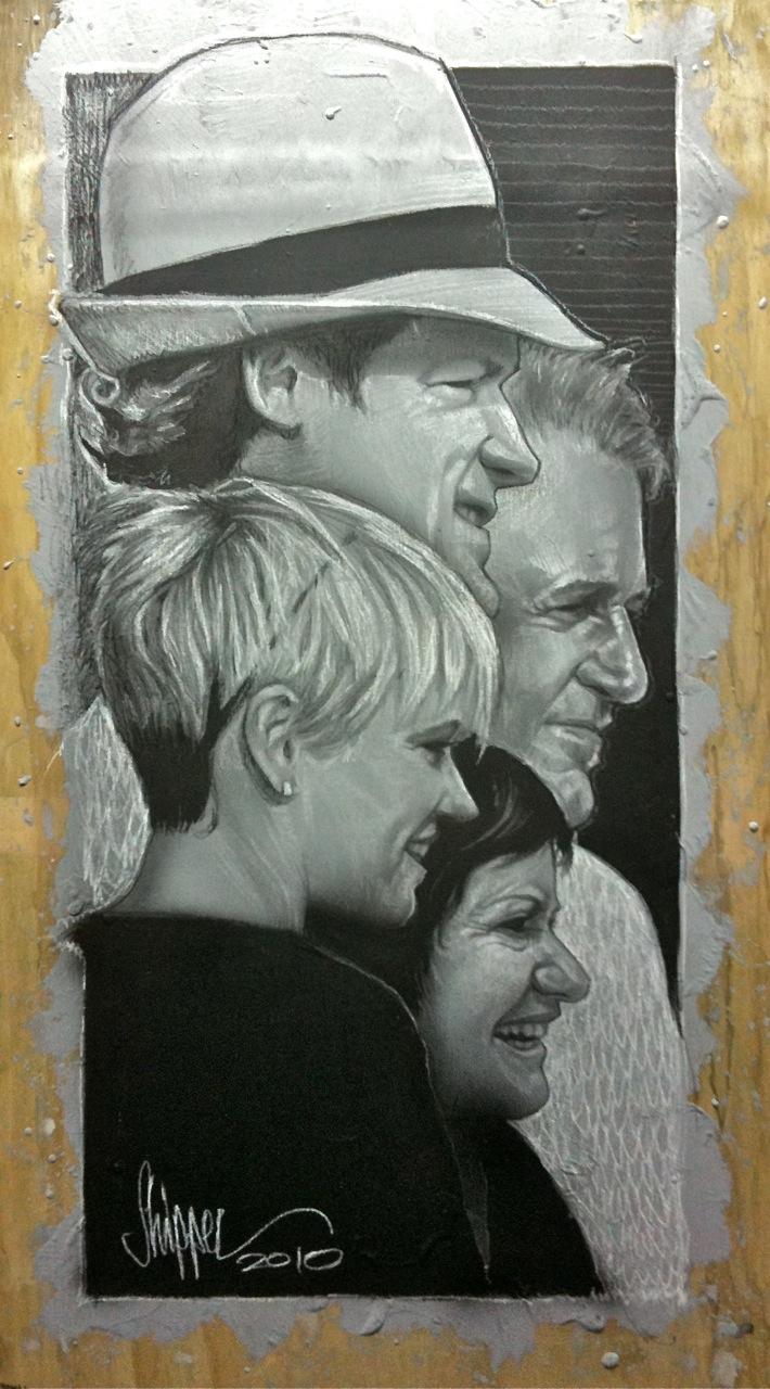 Fantastic Four... A Family Portrait