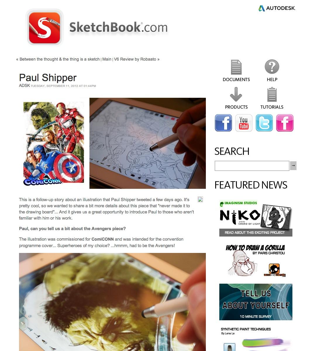 SketchbookPro Story