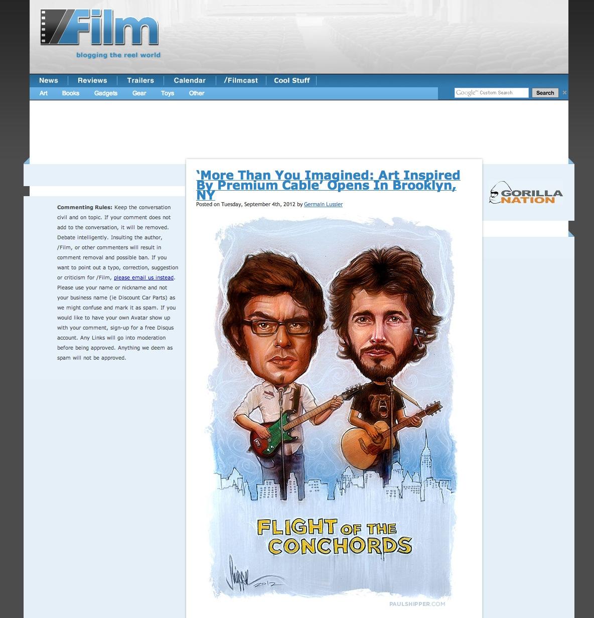 Choncords on Slash Film