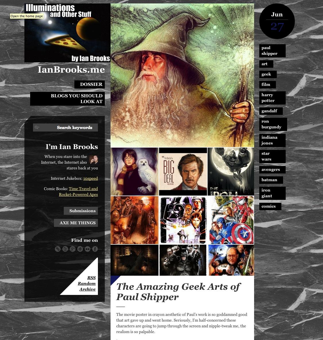 Geek Arts of Paul Shipper - Ian Brooks